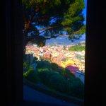 Vue depuis l'hôtel sur Sestri Levante
