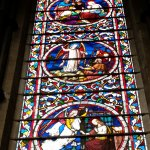 A stained glass window, Lincoln Cathedral