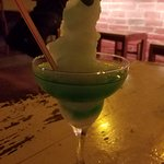 Daiquiri Rebelde -- Lime Frappe with Mint Rum.