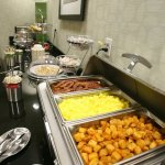 Hot Breakfast Each Morning with much to choose from
