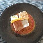 Dessert : Cube & Kube Chicorée, sésame grillé, pain d'épices