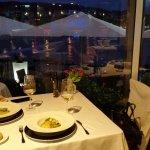 Cenando con vistas impresionantes!