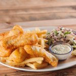 LandShark Lager Fish & Chips