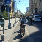 Bucharest city tour bike with Carpat Bike Tours - that was fun !!