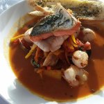 Cioppino which is a fish stew