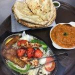 Tandoori Dinner and Chicken Tikka Masala with Naan