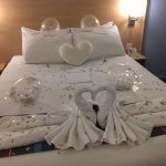 Wonderful, they made this for in my wedding night.