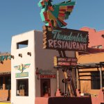 Thunderbird Restaurant - sign