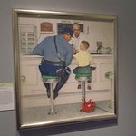 One of Rockwell's famous paintings.
