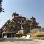 Kopan Monastery. The new building