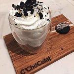 The C'ChocOreo Hot Chocolate