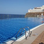 There are two infinity pools the lower one is brilliant for those with children or active adults