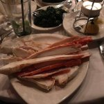 Delicious Alaskan king crab legs without the work!