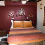 "Queen-size bed in Room 5""Buena Vista"""