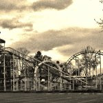 roller coaster in noir after hours