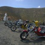 """Mirador """"Risco de las Penas"""", Parque Rural Betancuria and... trikes."""
