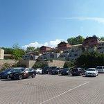Ansicht vom Parkplatz