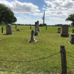 Cemetary in the Texas Camp