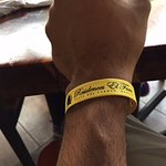 Wrist band you get when you check-in at El Faro front desk