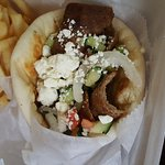 BEST gyro in town lovely owner this place is a gem