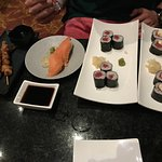 A typical sushi order.