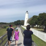 Family visit to the light house