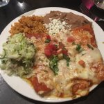 Cheese Enchiladas. Excellent!