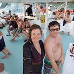 Catamaran cruise (included)
