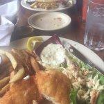 cod and fish - really bad