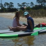Stand Up Paddle Boards also included with rental