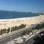 Overlooking Copacobana Beach