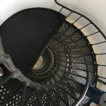The spiral staircase!