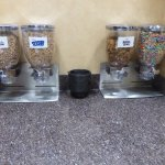 4 varieties of cold cereals