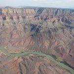 De rotsen van de Grand Canyon