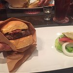 Burger - I prefer no vegetables on mine, and it came on the side which was perfect!