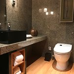 Executive Suite - Washroom at Living Room