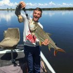 16lb Tigerfish! That is the smile it brings
