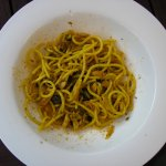 pasta con le sarde (typical sicilian dish)