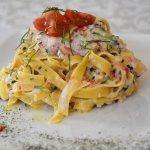 Seafood homemade pasta