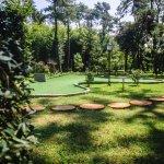 In The Large Hotel Garden, Mini Golf Stadium
