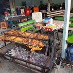 Sukhumvit Road street market Foto