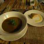 Soup as a starter