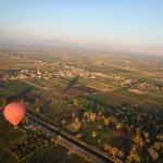 Balloon ride over Luxor Egypt