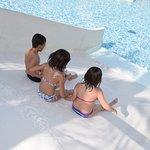 Tobogán piscina tropical
