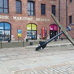 View of outside of Merseyside Maritime Museum