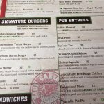 Zion Canyon Brewery - menu