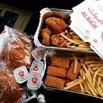 The most popular fast food restaurant in Saudi Arabia.