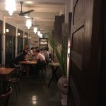 The beautiful restaurant interior