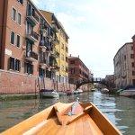 Row Venice Foto