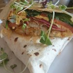 Brekky Wrap - best brekky wrap I've ever eaten!!